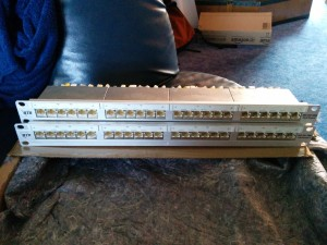24 Port Patchpanel